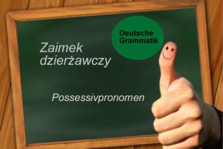 zaimek dzierżawczy niemiecki